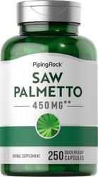 Saw Palmetto 450 mg 250 Capsules