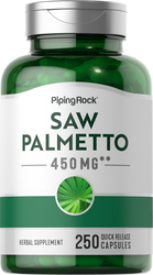 Saw Palmetto 450 mg 250 Capsules