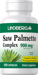Saw Palmetto Complex 900 mg (per serving), 100 Caps