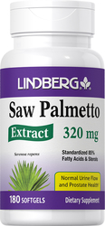 Saw Palmetto Standardized Extract 180 ソフトジェル