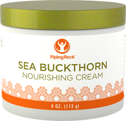 Crème nutritive à l'argousier 4 oz (113 g) Bocal