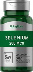 Buy Selenium 200 mcg 250 Tablets