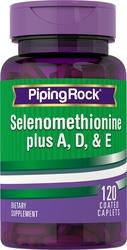 Selenium plus A, D & E 120 Petits comprimés enrobés