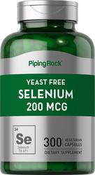 Yeast Free Selenium , 200 mcg, 300 Vegetarian Capsule