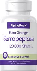 Serrapeptase 120 Kapseln mit schneller Freisetzung