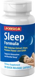 Schlaf-Formel mit Baldrian Plus 90 Kapseln mit schneller Freisetzung