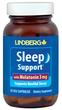 Sleep Support with Melatonin 3 mg, 50 Veg Capsules