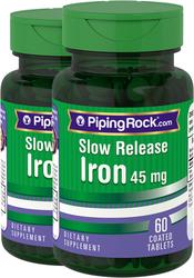 Железо препарат медленного высвобождения 60 Таблетки в Оболочке
