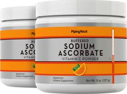 Natriumascorbaat gebufferd vitamine C-poeder 8 oz (227 g) Flessen