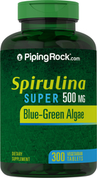 Spirulina 500mg 300 Tablets