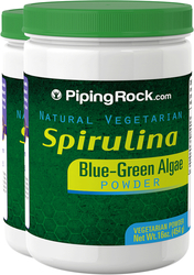 Spirulina Powder  2 Bottles x 16 oz (454 g)