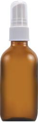 Frasco difusor 60 ml - Vidrio ámbar 2 fl oz (59 mL) Glass Amber, Frasco con aerosol