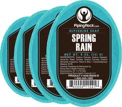 Frühlingsregen-Glyzerinseife 5 oz (141 g) Bar