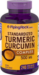 Turmeric Extract Curcumin 500 mg, 240 Capsules