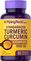 Gestandaardiseerd kurkuma curcumine complex met zwarte peper 90 Snel afgevende capsules