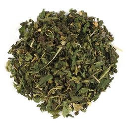 Folhas de urtiga cortadas e peneiradas (Orgânico) 1 lb (454 g) Saco