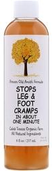 Stopper kramper i føtter og ben 8 fl oz (237 mL) Flaske