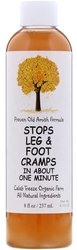 Stops Leg and Foot Cramps in About One Minute (Proven Old Amish Formula), 8 fl oz (237 mL)