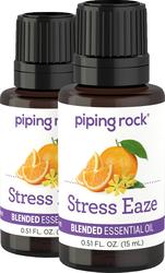 Stressabbau ‒ ätherische Ölmischung 1/2 fl oz (15 mL) Tropfflasche