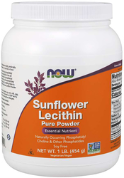 Lecithinepoeder zonnebloem 1 lb (454 g) Poeder