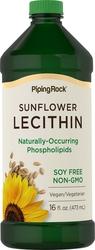 Pure Liquid Sunflower Lecithin 16 fl oz (473 mL) Bottle