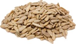 Sementes de girassol cruas sem casca 1 lb (454 g) Saco