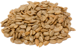 Sementes de girassol sem casca, tostadas e com sal 1 lb (454 g) Saco