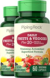 Superfruits und vegetarische Kapseln 60 Vegetarische Kapseln