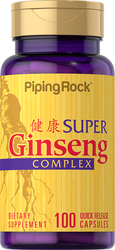 Super ginsengcomplex plus royal jelly 100 Snel afgevende capsules