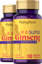 Red Ginseng Complex Plus Royal Jelly 2 x 100 Capsules