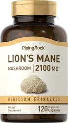 Super Lion's Mane Mushroom 2,100mg, 120 Vegetarian Capsules