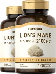 Lion's Mane Mushroom Extract 500mg 2 x 120 Supplement Capsules