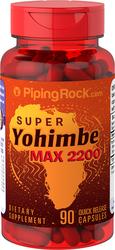 Super Yohimbe Max 2200 90 Kapseln mit schneller Freisetzung