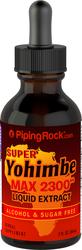 Extrait liquide de Super yohimbé Max Sans alcool  2 fl oz (59 mL) Compte-gouttes en verre