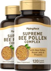 Complexe de pollen d'abeille suprême 120 Petits comprimés enrobés