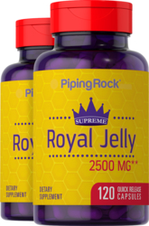 Supreme Royal Jelly, 2500 mg, 120 Quick Release Capsules