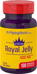 Royal Jelly 500mg 100 Capsules
