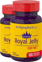 Royal Jelly 500mg 2 Bottles x 100 Capsules