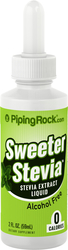 Sweeter Stevia Liquid 2 fl oz Dropper Bottle