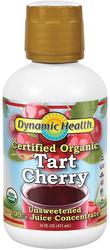 Tart Cherry Juice Concentrate - Organic 16 fl oz (473 mL) Bottle