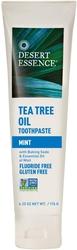 Pasta de dentes de óleo de árvore do chã - Sabor a menta 6.25 oz (177 g) Tubo