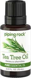 Aceite esencial de árbol del té, puro 1/2 fl oz (15 mL) Frasco con dosificador