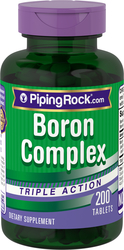 Buy Boron Complex 3 mg Triple Action 200 Capsules