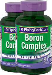 Boron Complex 3 mg Triple Action 2 x 200 Tablets