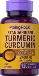 Turmeric Curcumin Advanced Complex, 2400 mg (per serving), 120 Softgels