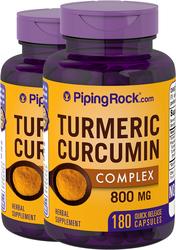 Turmeric Curcumin 800 mg 180 Capsules
