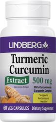 Gestandaardiseerd kurkuma-extract 60 Vegetarische capsules