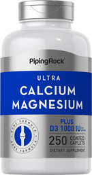 Ultra-Kalzium-Magnesium Plus D3 (Kalzium 1000 mg/Magnesium 500 mg/D3 1000 IE) (pro Portion) 250 Überzogene Filmtabletten
