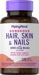 Ultra haar, huid & nagels 120 Gecoate capletten