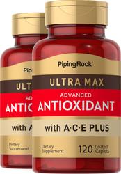 Ultra Max Antioxidant 2 Bottles x 120 Coated Caplets